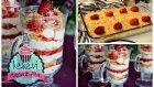 Kadayıflı Muhallebi (Çilek Soslu) İki Farklı Sunum | Ayşenur Altan Yemek Tarifleri
