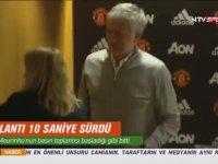 Jose Mourinho'nun 10 Saniyelik Basın Toplantısı Toplantısı