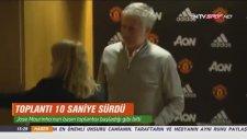 Jose Mourinho'nun 10 Saniyelik Basın Toplantısı