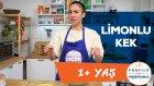 Bebekler İçin Limonlu Yoğurtlu Kek (1+ Yaş) - Profilo İle Pişiriyoruz | İki Anne Bir Mutfak