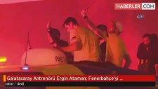 Galatasaray Antrenörü Ergin Ataman: Fenerbahçe'yi Kutlamıyorum