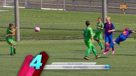Barcelonalı gençlerden şık goller