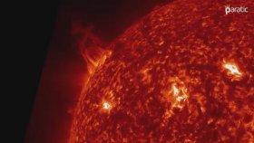 Güneşte Yaşanan Patlamalar