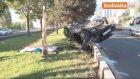 Hurdaya Dönen Otomobilde Sıkışan Sürücü Hayatını Kaybetti
