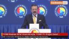 TOBB Başkanı Rifat Hisarcıklıoğlu, TOBB 73. Olağan Genel Kurulu'nda Konuştu