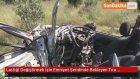 Lastiği Değiştirmek İçin Emniyet Şeridinde Bekleyen Tıra Otomobil Çarptı: 4 Ölü
