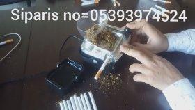 Otomatik Elektrikli Sigara Sarma Makinası