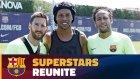 Barcelona'da Ronaldinho Sürprizi!