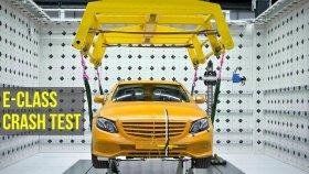 E Sınıfı Mercedes'in Kaza Testi