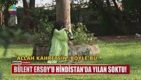 Bülent Ersoy'u Yılan Sokması - Hindistan