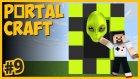 Uzaylı Dünyası Portalı Ve Orman Dünyası Portalı - Portalcraft #9