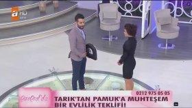Esra Erol'da - Evlilik Teklifini Duyan Gelin Adayı Pamuk Bayıldı!