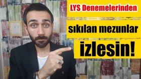 LYS Denemelerinden Sıkılan Mezunlar İzlesin! |Tüm Öğrenciler|
