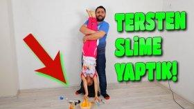 Tersten Slime Yapın Dediler Bizde Yaptık Ama Bir Sorun Var Gibi !!