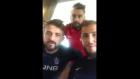 Trabzonsporlu futbolculardan anlamlı davanış