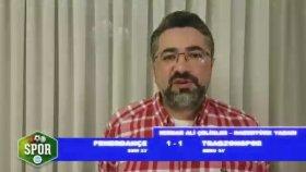 Fenerbahçe 1-1 Trabzonspor Maçı Özeti Yorumları