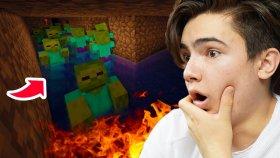 Gizli Yer Altı Tüneli ! - Minecraft Hexxit