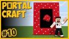 Mantar Dünyası Portalı Ve Şekerden Ev - Portalcraft #10