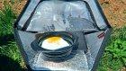 Mini Taşınabilir Güneşli Fırın Testi
