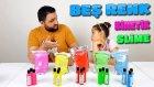 Rengi Rengine Borakssız Beş Farklı Kinetik Slime Yapmak !!