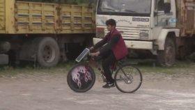 Liseli Gençten Güneş Panelli Bisiklet
