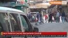 Gezi Parkının Çevresi Bariyerlerle Çevrildi