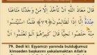 Ok Takipli Mehmet Emin Ay Türkçe Mealli Hatm-i Şerif - 13. Cüz