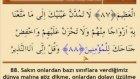 Ok Takipli Mehmet Emin Ay Türkçe Mealli Hatm-i Şerif - 14. Cüz