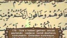 İsmail Biçer Türkçe Mealli Hatm-İ Şerif - 4. Cüz (Ok Takipli)