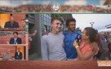 Canlı Yayında Muhabiri Taciz Eden Tenisçi