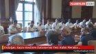 Erdoğan, Saçını Kestiren Datome'nin Yeni Halini Merakla İnceledi