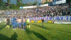 Taraftarlar futbolcuların sahayı terketmesini istedi
