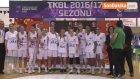 Türkiye Kadınlar Basketbol - Kırçiçeği Bodrum Basketbol: 74 - Çankaya Üniversitesi: 55