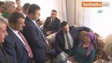Bakan Tüfenkci, Şehit Yarbay Songül Yakut'un Ailesini Ziyaret Etti