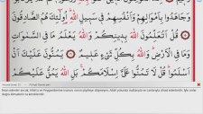 Saad Al Ghamidi - 49 - Hucurat Suresi ve Meali (Ok Takipli)
