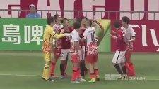 AFC Şampiyonlar Ligi Maçında Yumruklar Konuştu