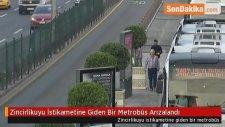 Zincirlikuyu İstikametine Giden Bir Metrobüs Arızalandı
