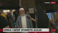 CNN Türk Muhabirine Belasın Diyen Yaşlı Adam
