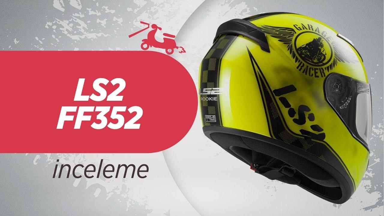 ls2 ff352 kask nceleme ls2 ff352 motorcycle helmet. Black Bedroom Furniture Sets. Home Design Ideas