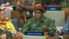 BM Toplantısına Damga Vuran Görüntü: Cinsel Organına Boynuz Takan Delege