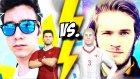 11 Tane Enes Batur vs 11 Tane Pewdıepıe ! Mıllı Maç !