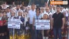 Halk Oyunları Türkiye Şampiyonası Kortej Yürüyüşü ile Başladı
