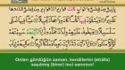 Sesli, Görüntülü,Mealli  Kur`an ı Kerim Hatim Seti 29. Cüz (Ok Takipli)