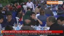 Başkan Ahmet Haşim Baltacı, Komşuları İftarda Ağırladı
