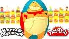 Kaptan Düşükdon Sürpriz Yumurta Oyun Hamuru - Hatchimals Cicibiciler
