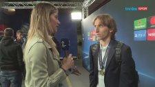Final Maçı Sonrası Luka Modric ile Röportaj Yapan Türk Kızı