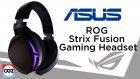 Kablosuz Yanar Döner Oyuncu Kulaklığı - ASUS ROG Strix Fusion Gaming Headset - İlk Bakış