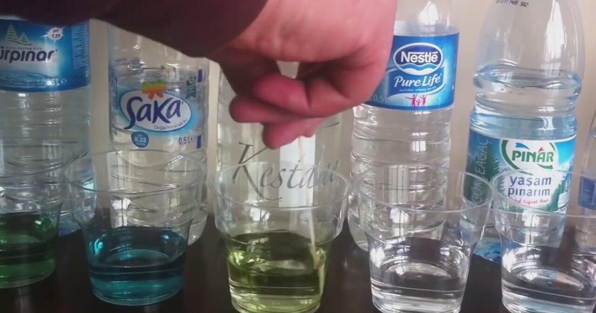 Piyasadaki Bazı Suların Alkali Testi - Ph Ölçümü