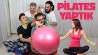 Ebru Şallı'ya Meydan Okuduk - Pilates Challenge | Ahmet Usta, Leafgaming, Abidik Adam | Binbir Fikir
