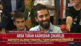 Fatih Terim, Arda Turan'ı Kamptan Gönderdi!